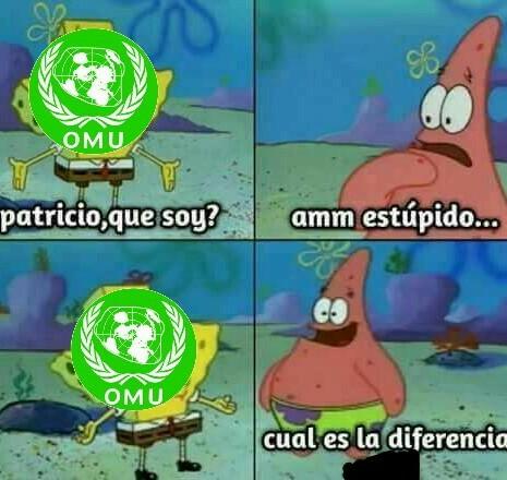 La OMU no sirve masters - meme