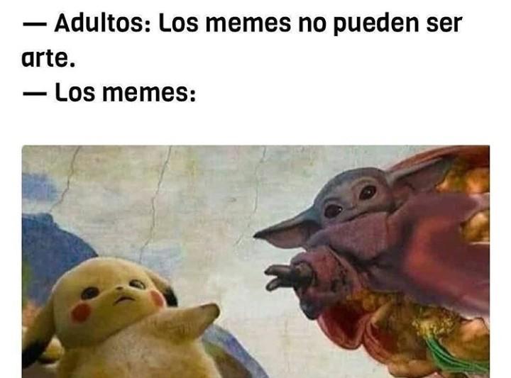 Simplemente arte - meme