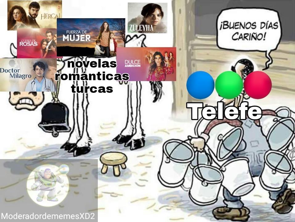 90% novelas románticas 10% algo argentino - meme