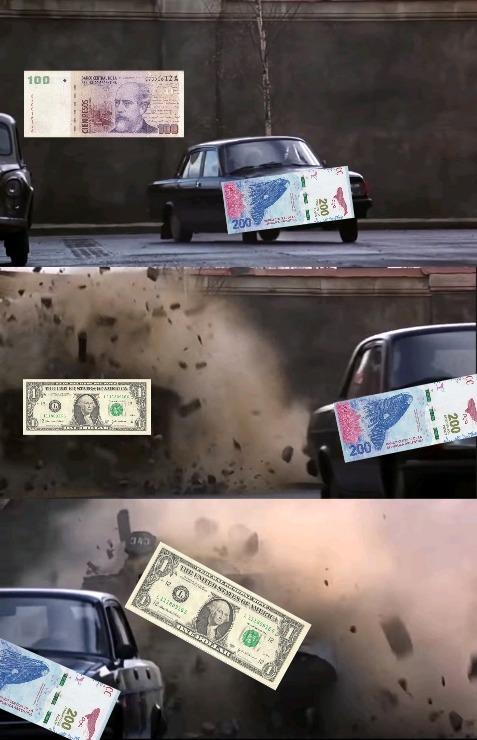 Jaja,re piola la economía argentina - meme