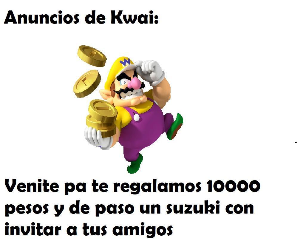 Anuncion de kwai: - meme