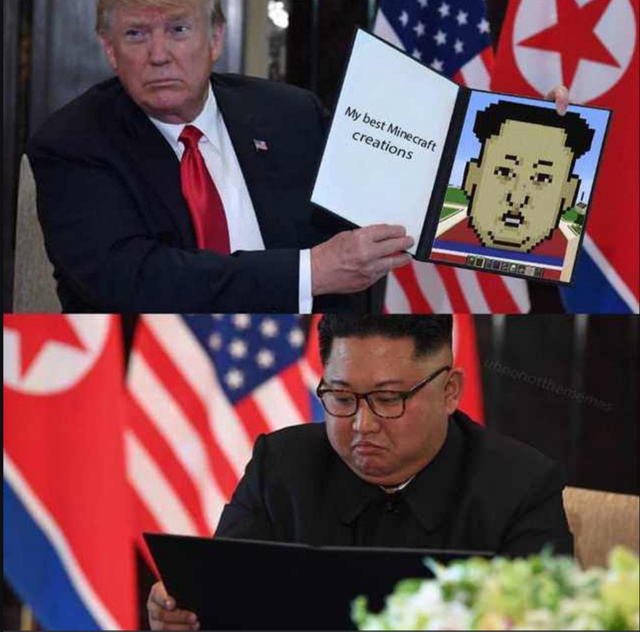 Trump's best Minecraft creations - meme