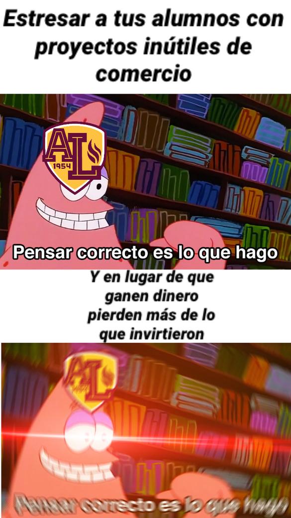 Basado en mi colegio - meme