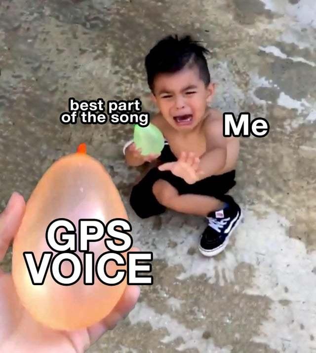 You have reached your destination - meme