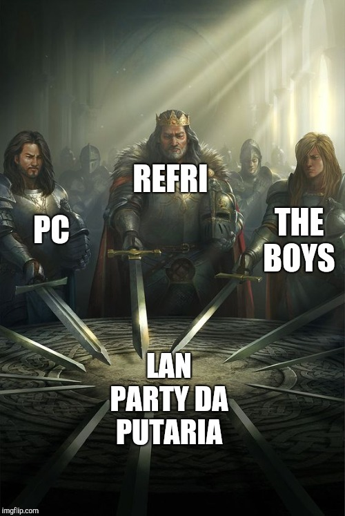 ME AND THE BOYS WILL NEVER DIE - meme