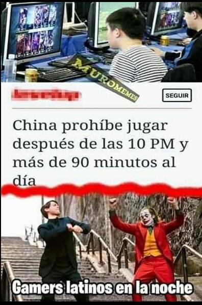Al fin nerfearon a los chinos - meme