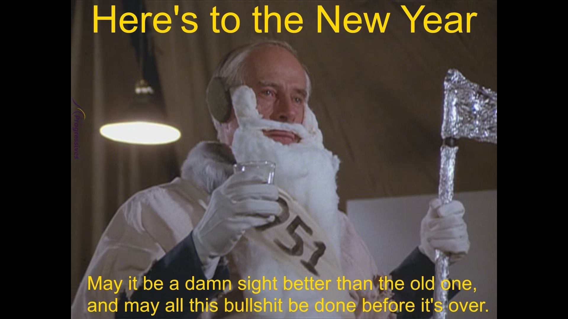 here's to the New Year - meme
