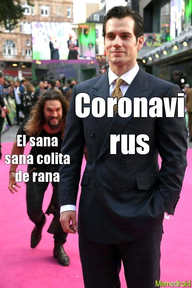 El titulo murio por coronavirus - meme