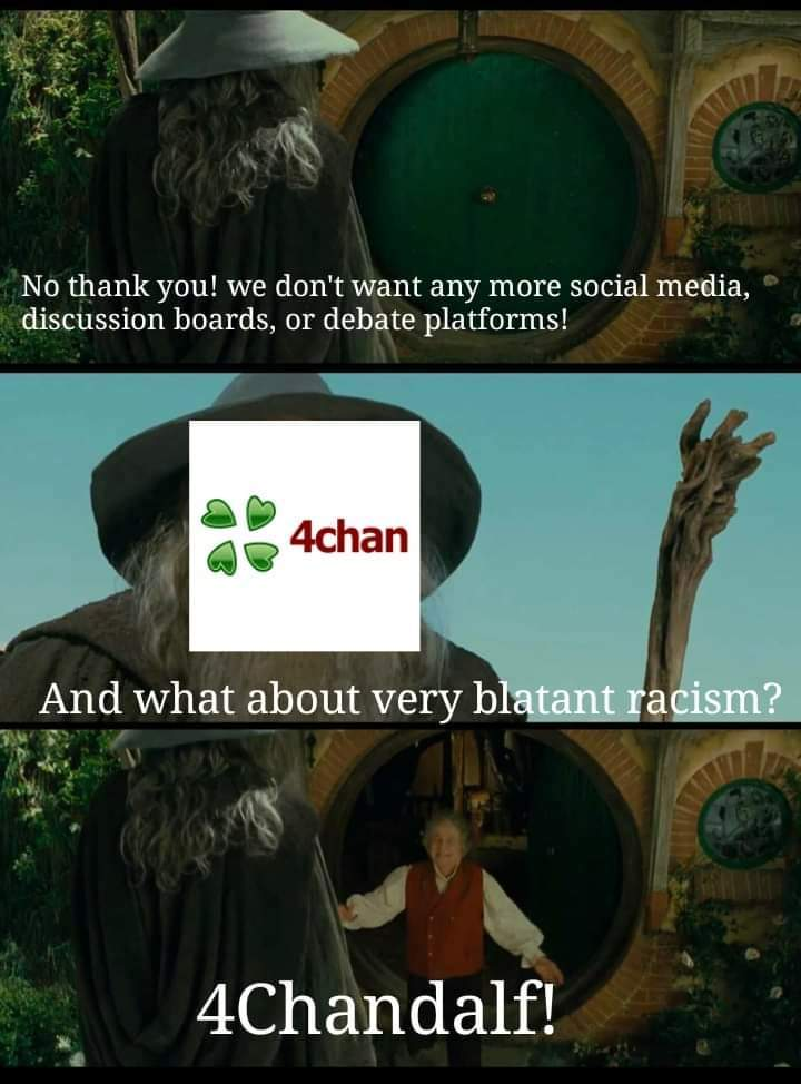 The hacker known as 4chan - meme