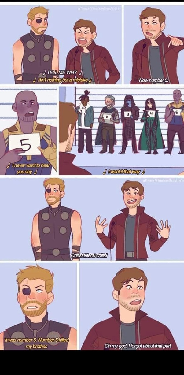 Brooklyn Nine Nine + Avengers - meme