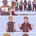 Brooklyn Nine Nine + Avengers