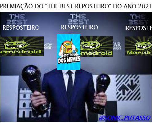 """FOI DECLARADA O """"THE BEST REPOSTEIRO DO ANO 2021"""" //// fds se o ano acabou de começar ele/a já é o the best reposteiro do ano - meme"""