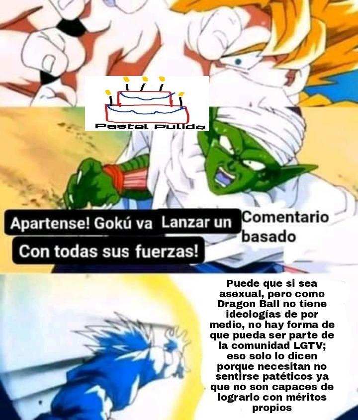 Dijeron arriba los basados y ahora entiendo porque Goku puede volar - meme