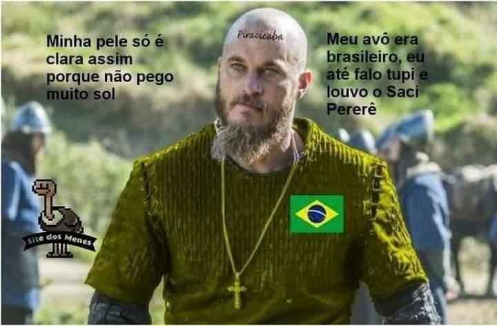 Brasil em um universo paralelo - meme