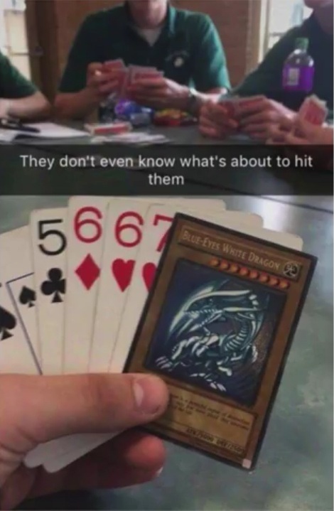 YOU'VE JUST ACTIVATED MY TRUMP CARD!!! - meme