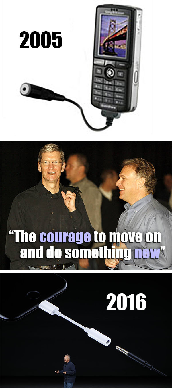 """Apple """"innovation"""" - such """"courage"""" - meme"""