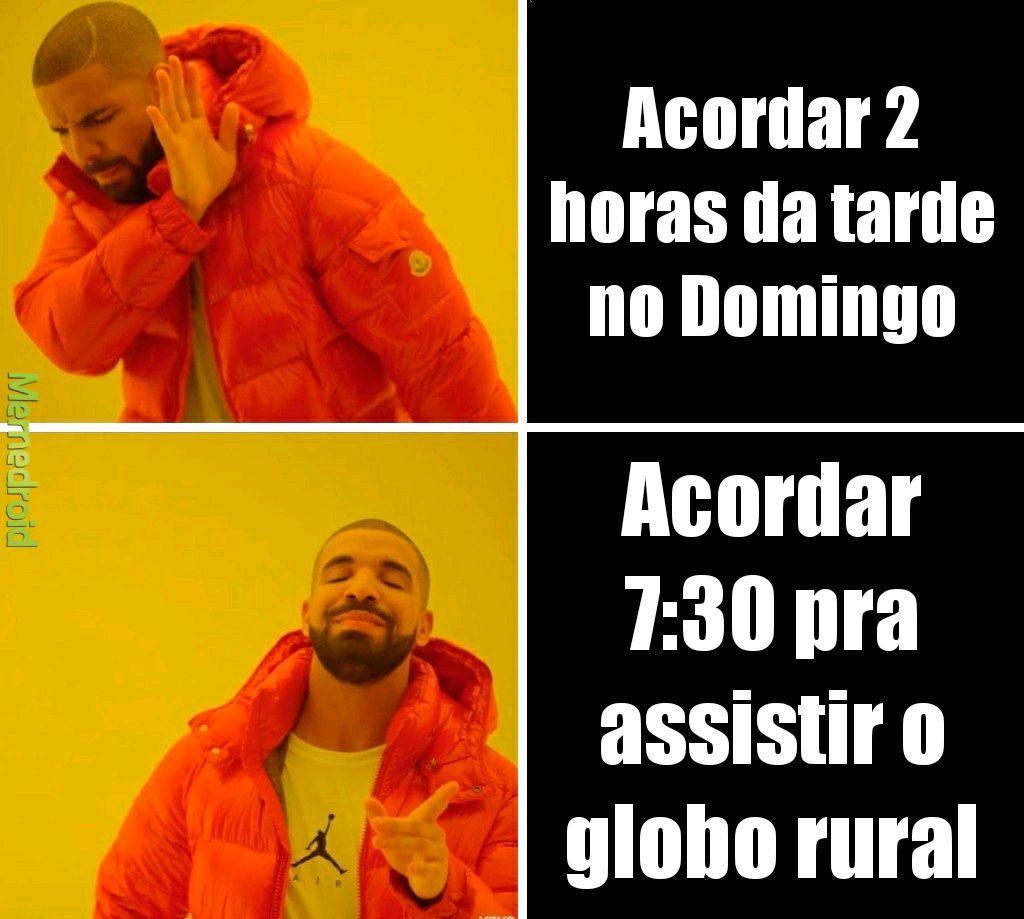 Globo rural - meme