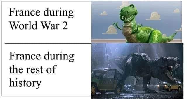 ... or versus itself - meme