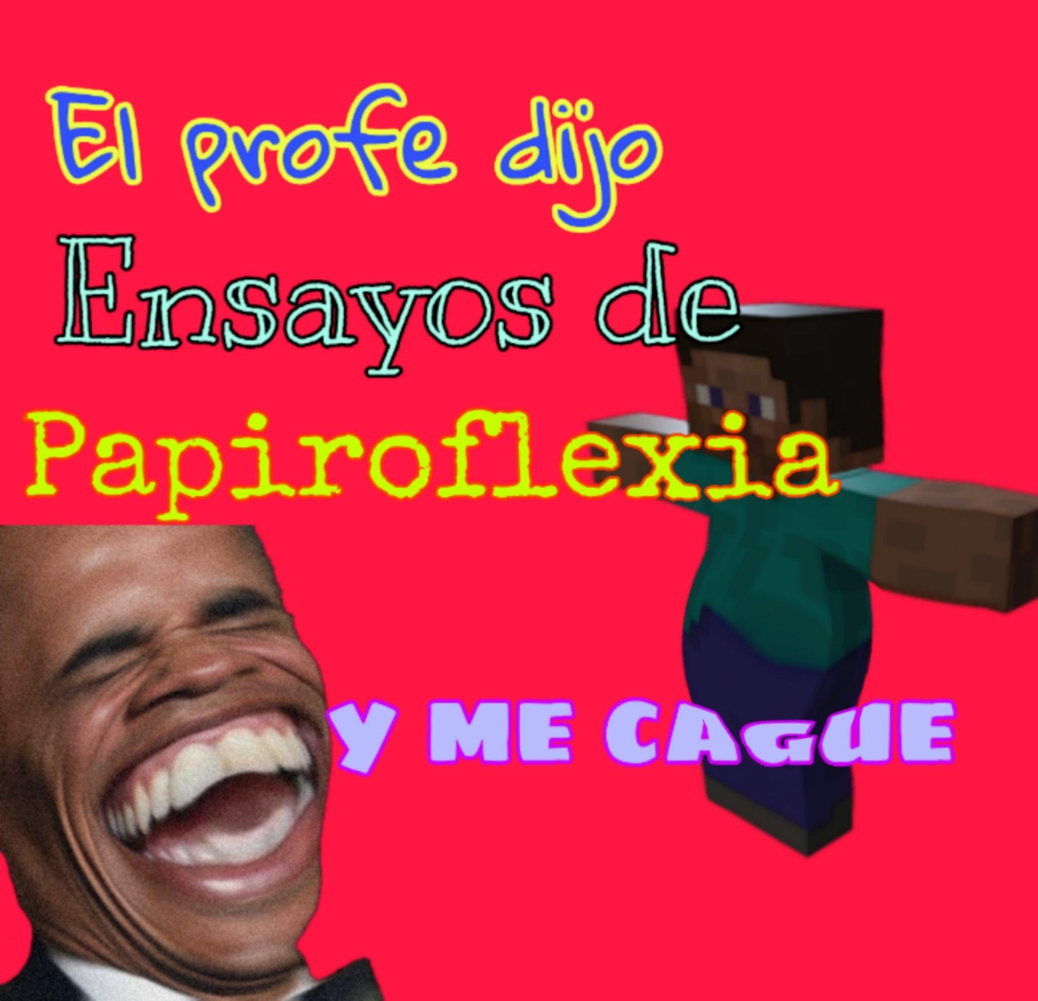 Ensayos de Papiroflexia jajajajaja - meme