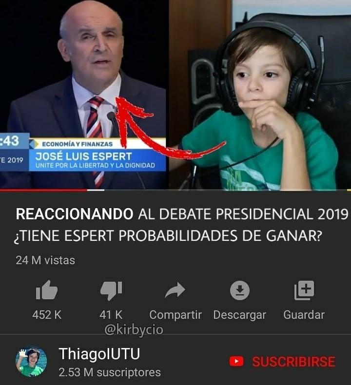 Jajaj el Thiago - meme