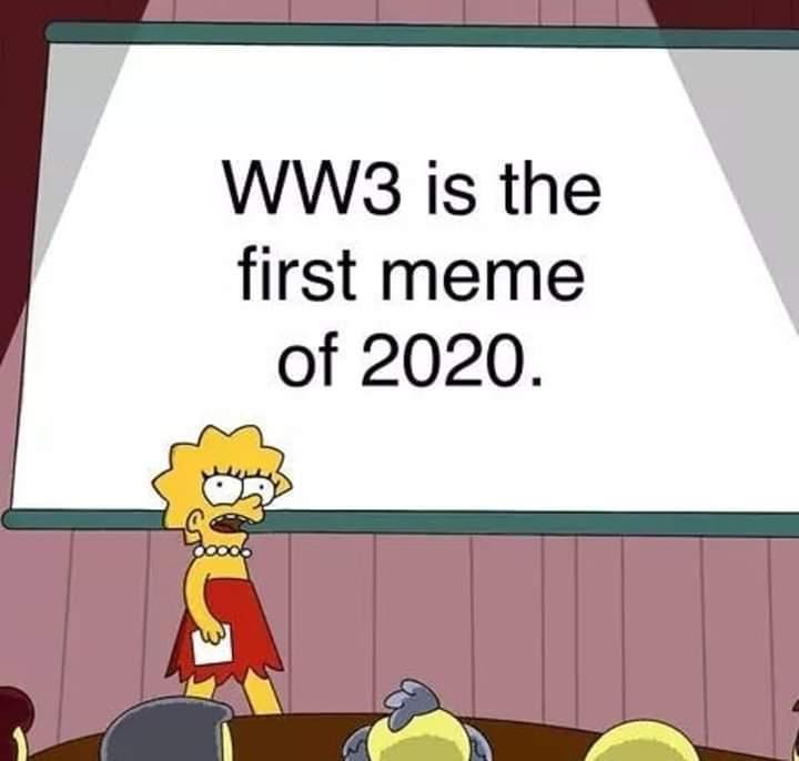 Notre premièr meme de 2020