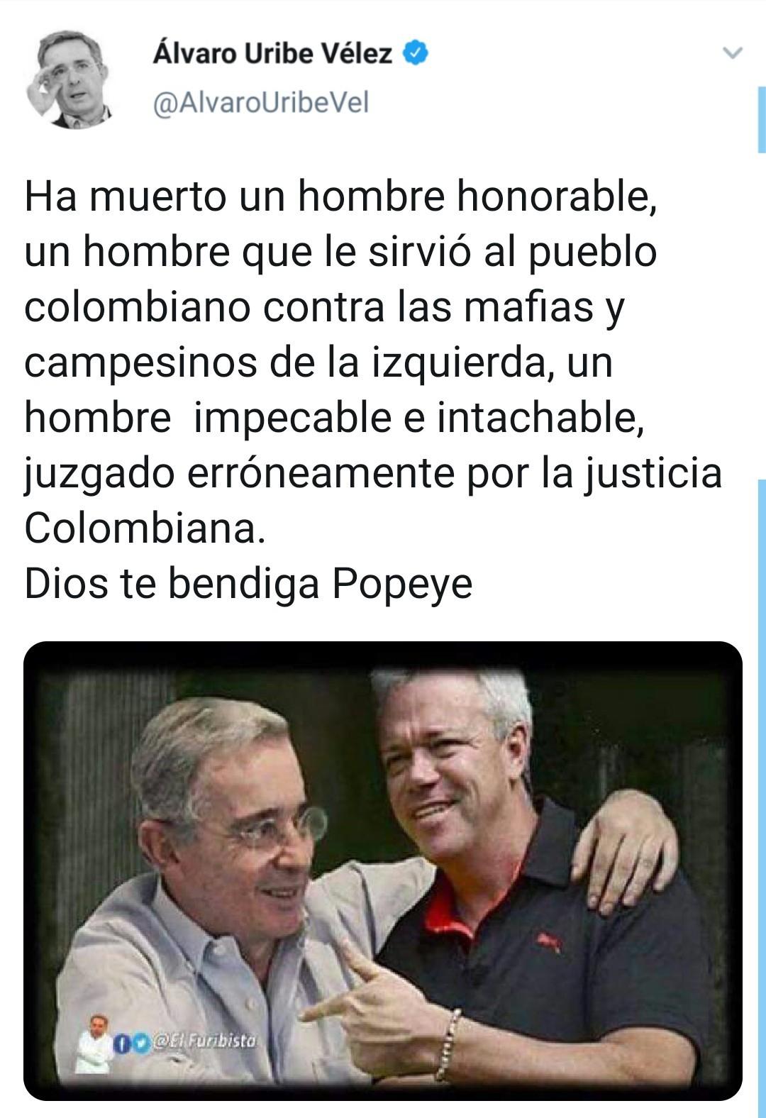 Uribe y popeye - meme