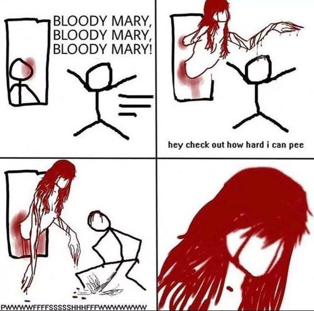 Bloody mary - meme