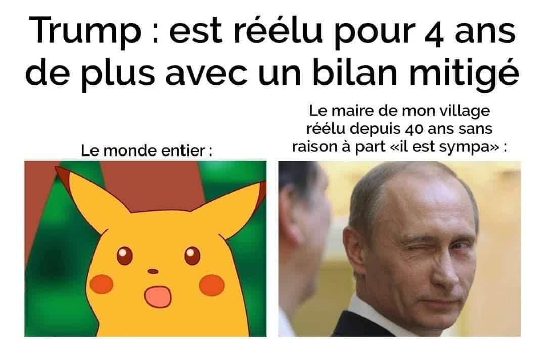 Les maires des petits villages be like - meme