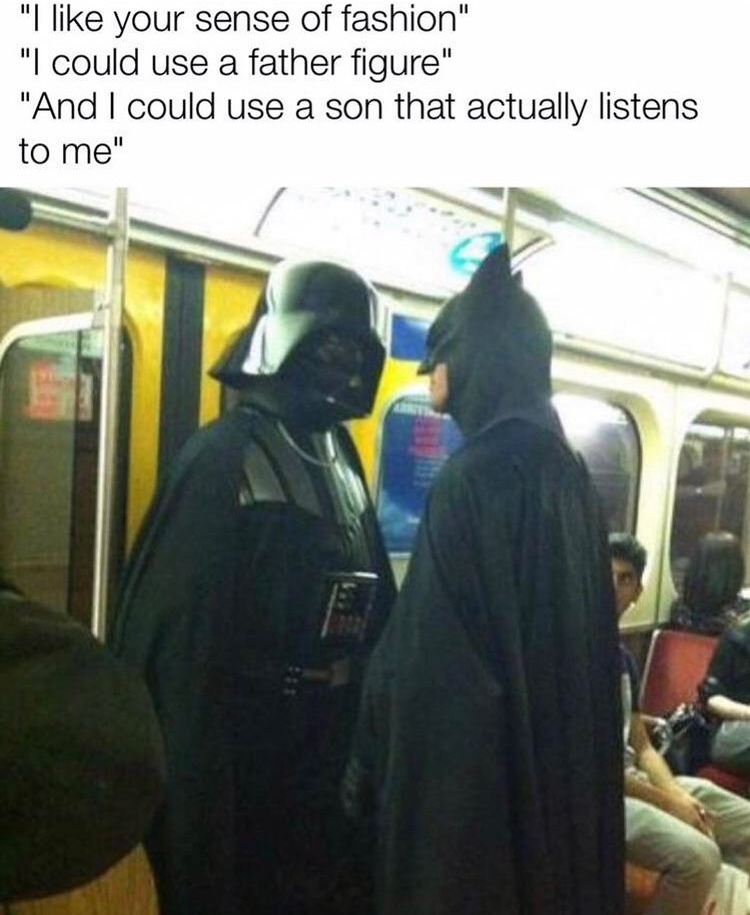 I am your father - meme