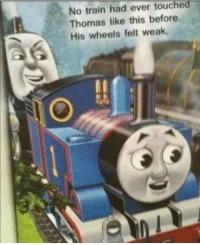 Thomas no - meme