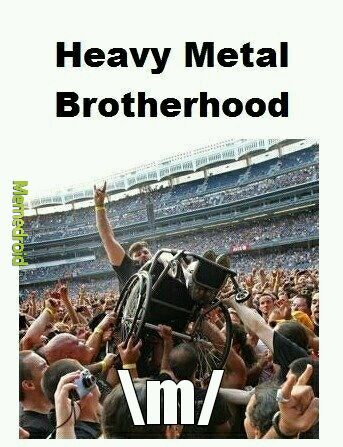 Metal Brotherhood - meme