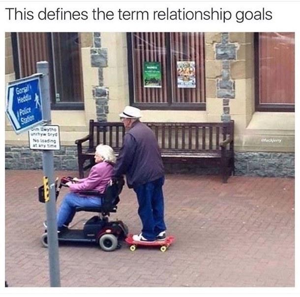 Actual relationship goals - meme
