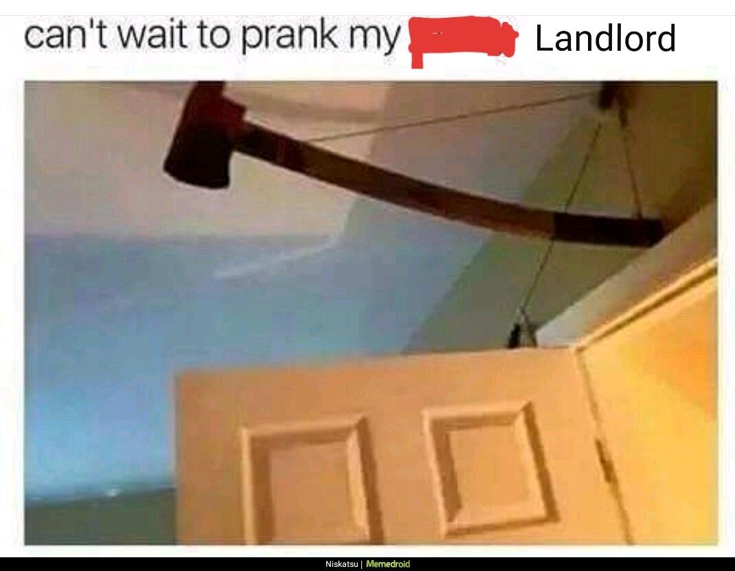 Landlord suck - meme