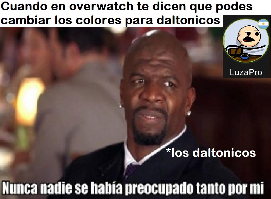 gracias overwatch - meme