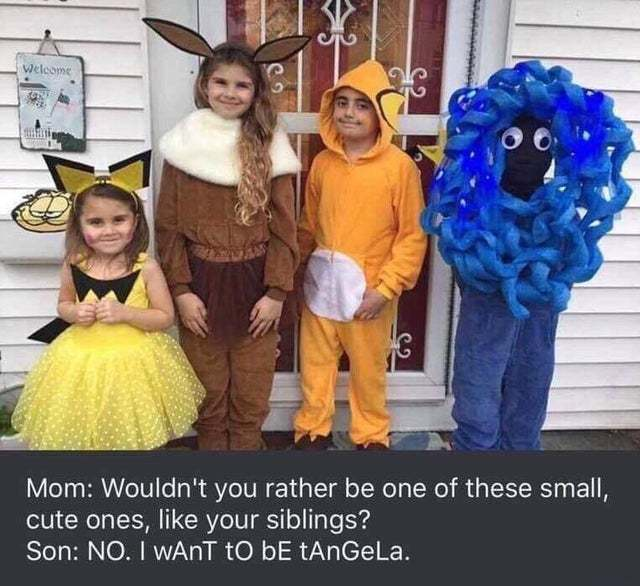 Wouldn't you rather be one of these small, cute ones? - meme