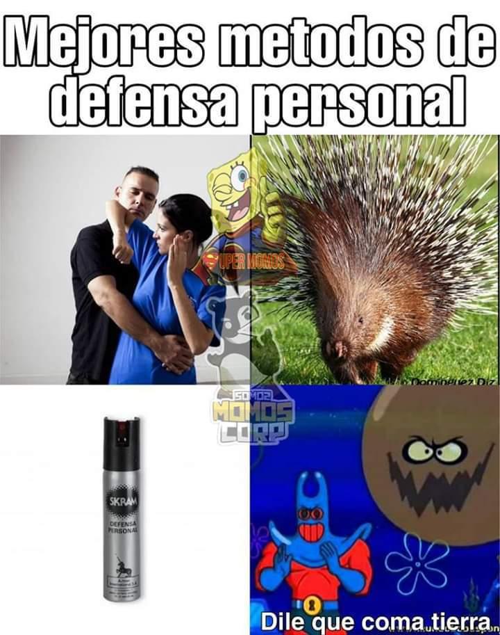 Defensa personal - meme