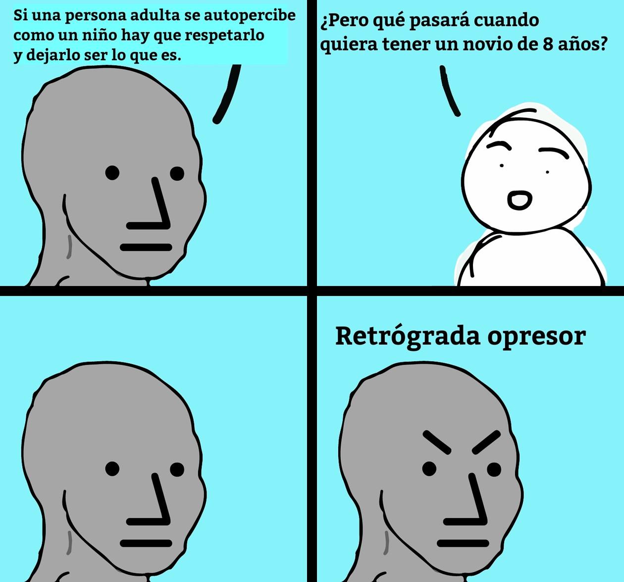 La postancia - meme