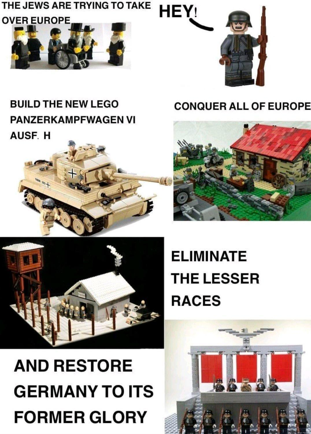 the new sets of lego stadt - meme