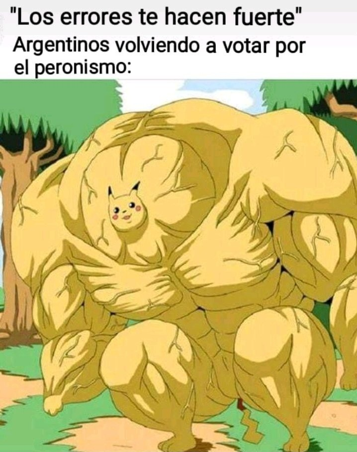 Vivimos en Peronia - meme