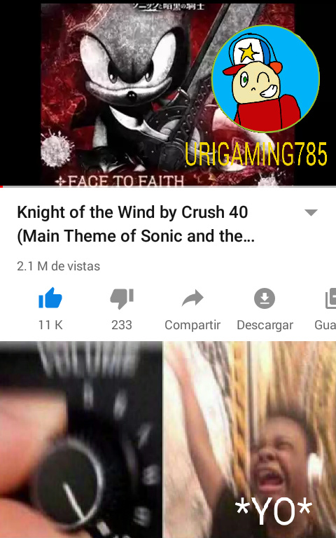 I'm the Knight Of The Wind - meme