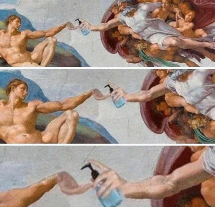 El nuevo arte - meme