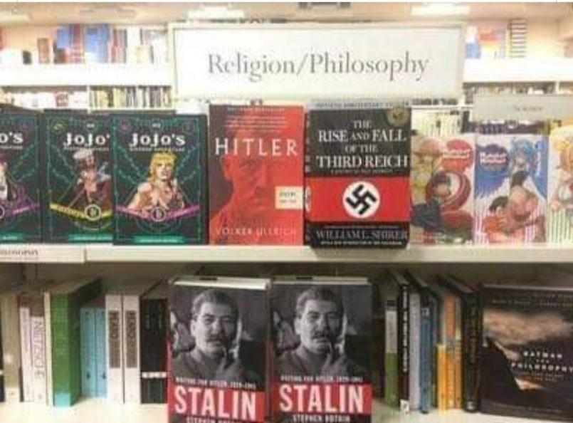 Religion y filosofia - meme