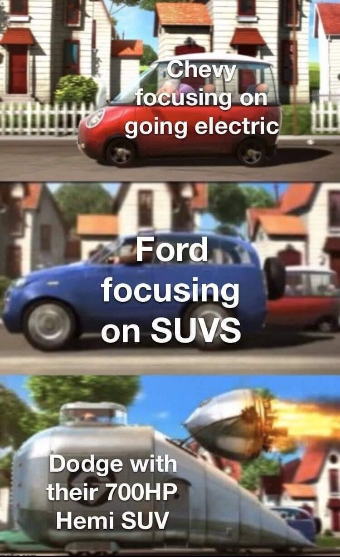 Mopar or no car - meme