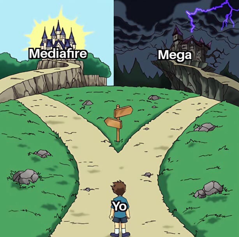 como odio mega - meme