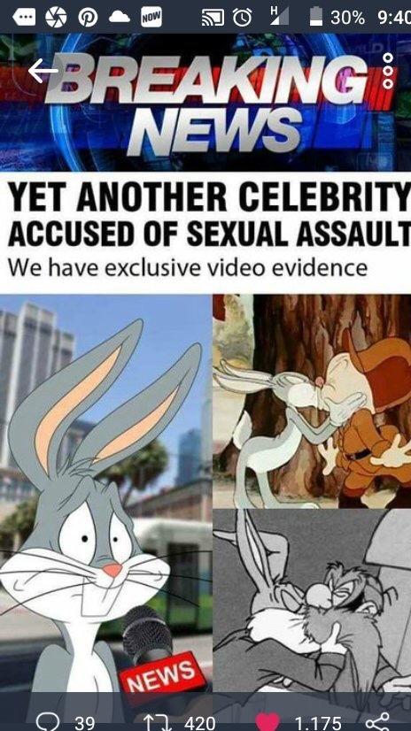 Abused Bugs Bunny - meme