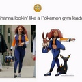 Rihanna gym leader