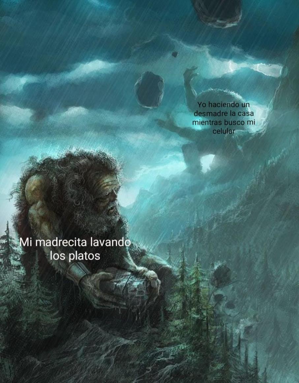 No sé qué poner de título - meme