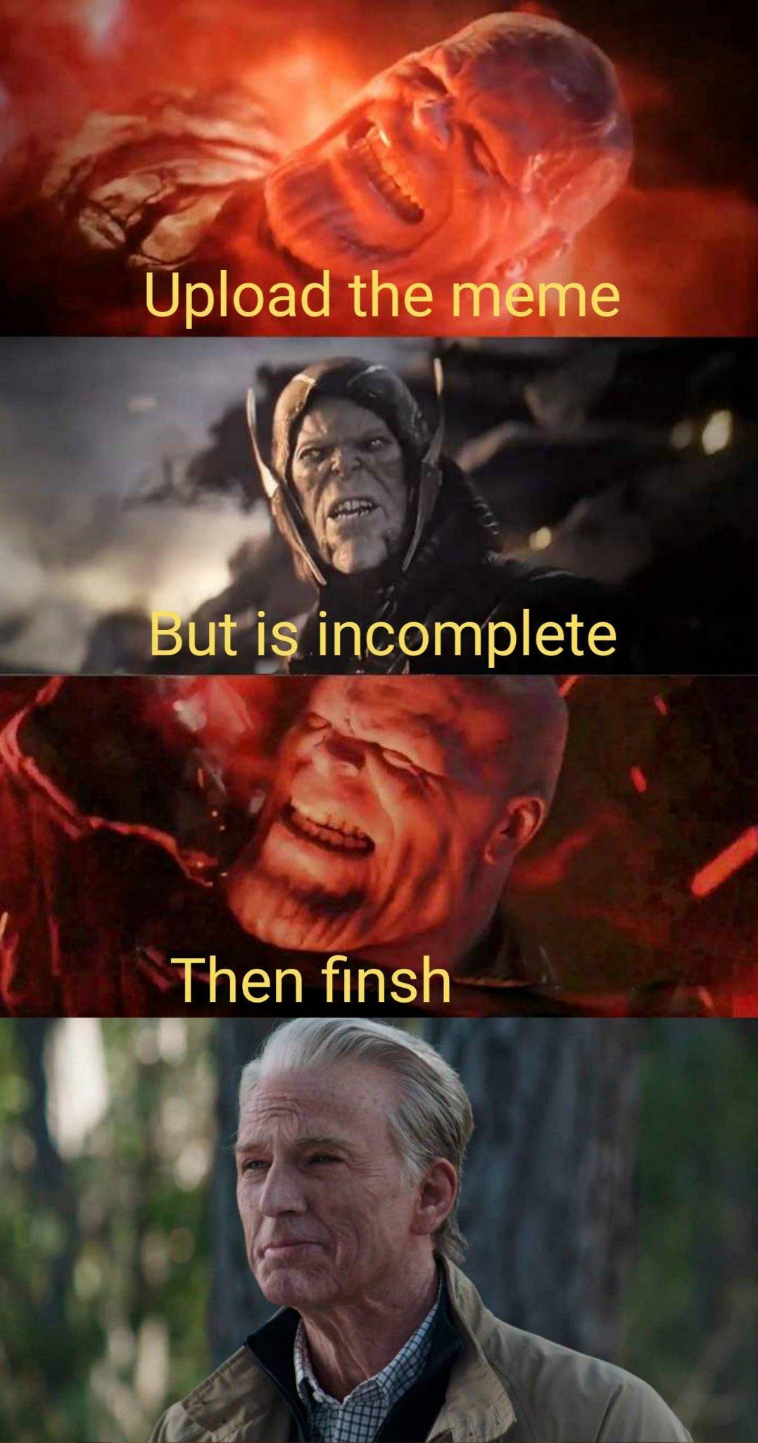 Is it done? - meme
