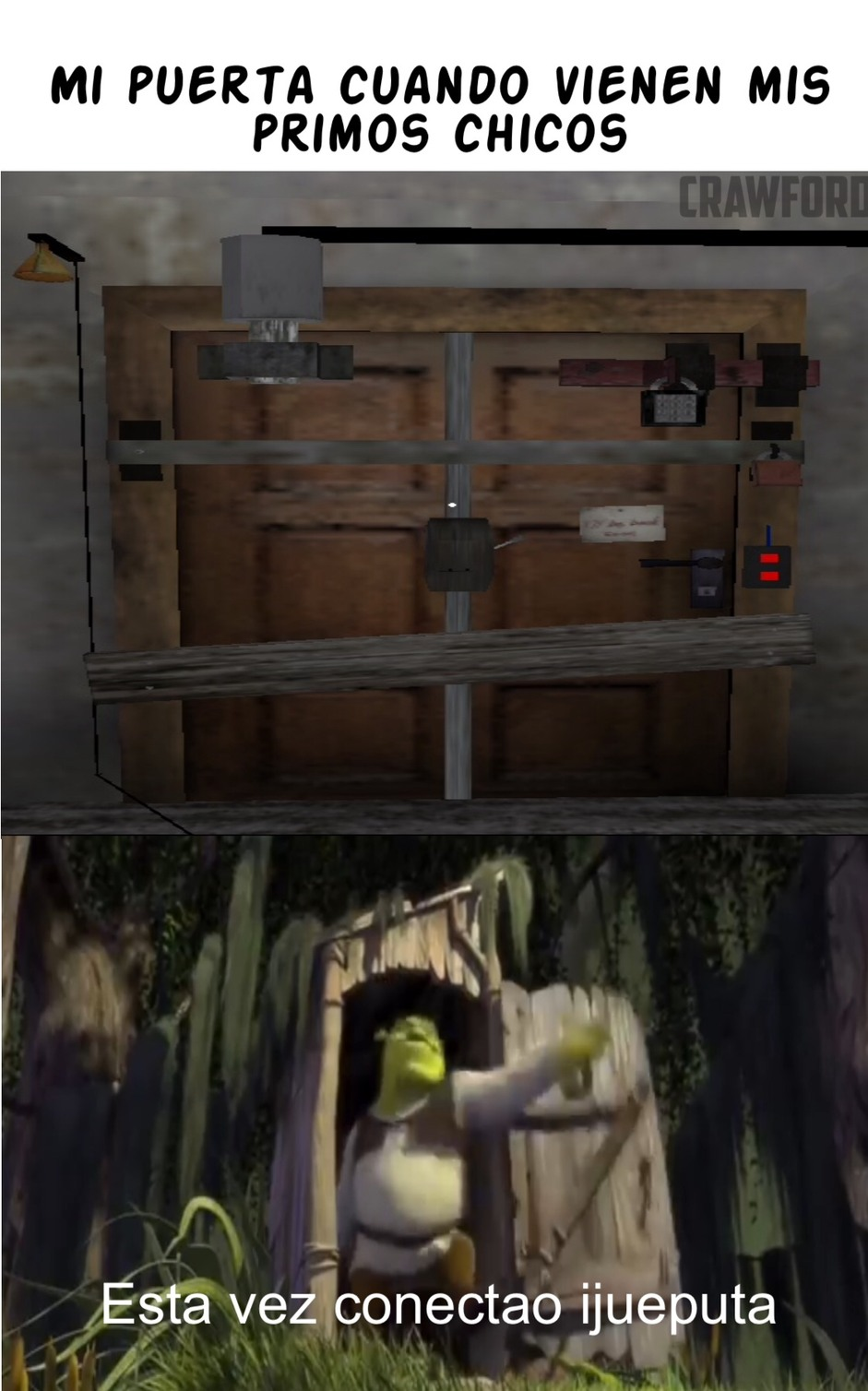 Open the door! - meme