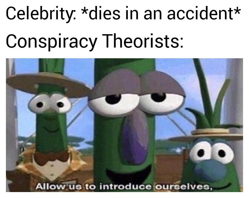 I've heard like 3 theories on who killed kobe - meme